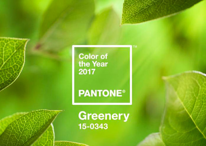 Pantone Releases the color of 2017: <br>Greenery